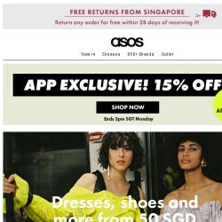 [ASOS] Got our app? Get 15% off