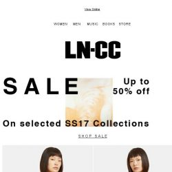 [LN-CC] SUMMER Sale: up to 50% off: Stella McCartney / Fendi / Valentino / Alyx / Marni / Proenza Schouler