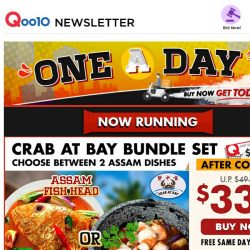 [Qoo10] ASSAM Seafood Pot Set for 4 at $33.90! FREE Delivery, Grab Today!