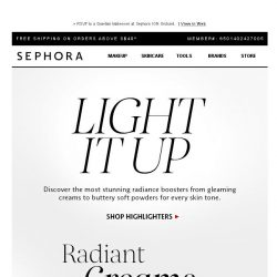 [Sephora] Beauties, it's time to find your glow
