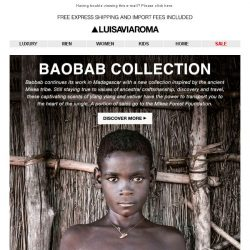 [LUISAVIAROMA] Baobab Collection: The aroma of Madagascar