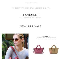 [Forzieri] New In - Tory Burch, Furla and Meli Melo | Shop Now