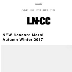 [LN-CC] Just in: Marni - Classic silhouettes and contrasting detailing + SALE up to 50% off