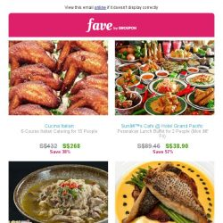 [Fave] Tuesdays deal days – Food, fitness, and enjoyment inside!