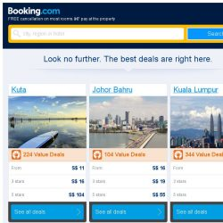 [Booking.com] Deals in Kuta from S$ 11