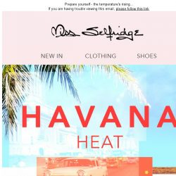 [Miss Selfridge] #TRENDING: Havana Heat ☀️