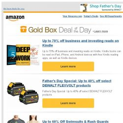 [Amazon] Up to 70% off business and investing reads on...