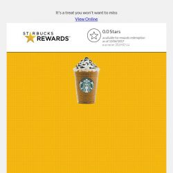 [Starbucks] ⚡Countdown to Frappuccino Frenzy: Two. More. Days.