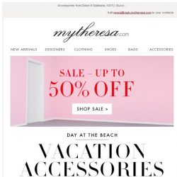 [mytheresa] Free shipping + The perfect pieces for a luxe vacation + Sale