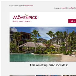 [Mövenpick Hotels & Resorts] ☀ Only few days to win your dream holiday in Bali!