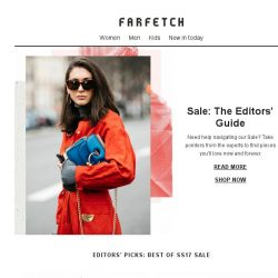 [Farfetch] Best of sale from our fashion insiders