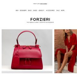 [Forzieri] Catching Fire // Blazing hot accessories to ignite your Summer wardrobe