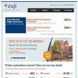 [Zuji] Feeling hot? Because Amsterdam & more are on sale fr $770!