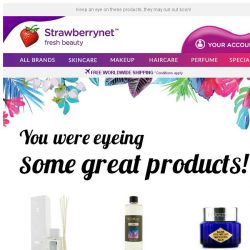 [StrawberryNet] Hi , still looking for your dream product?