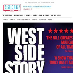 [SISTIC] West Side Story Coming Soon to Singapore