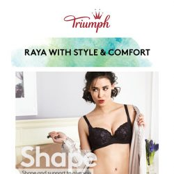 [Triumph] 🎉 Raya In Style & Comfort