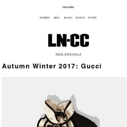 [LN-CC] Pre AW17 Gucci: Classic romanticism and athletic inspiration + SALE up to 50% off