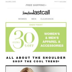 [Last Call] All about the shoulder TREND from $42