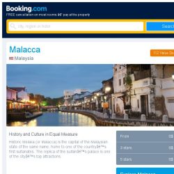 [Booking.com] Deals in Malacca from S$ 15 for your dates