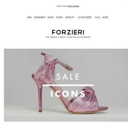 [Forzieri] SALE Icons | Charlotte Olympia, Proenza Schouler & Moschino