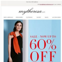 [mytheresa] Sale: now up to 60% off + Free shipping