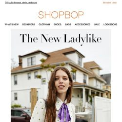 [Shopbop] Just in: Marc Jacobs's new collection