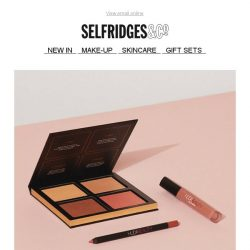 [Selfridges & Co] The beauty brand on everyone's lips is here