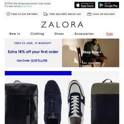[Zalora] Up To 60% Off Footwear and Bags! Complete Your Outfit With These Additions