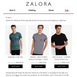 [Zalora] Are you still shopping for Graphic T Shirts?