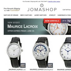 [Jomashop] Gone in a Flash!