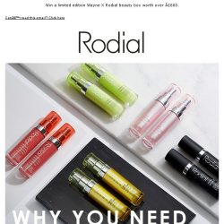 [RODIAL] Choose Your Serum Up To 70% Off
