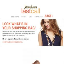 [Last Call] Hurry Before Your Shopping Bag Empties!