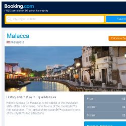[Booking.com] Deals in Malacca from S$ 13 for your dates