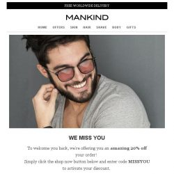 [Mankind] We miss you
