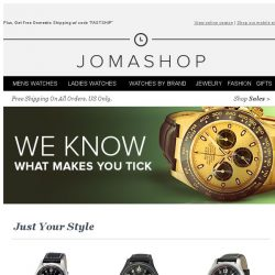 [Jomashop] Recommended for Bargain