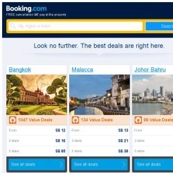 [Booking.com] Bangkok and Malacca – great last-minute deals from S$ 12