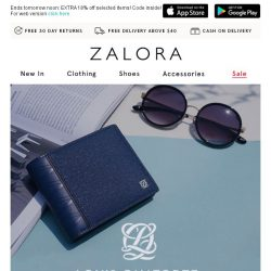 [Zalora] Louis Quatorze: Up To 30% Off Premium Accessories