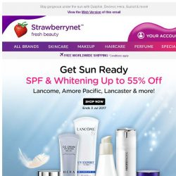 [StrawberryNet] SPF and Whitening? YES PLZ. ☀ Get Sun Ready Up to 55% Off