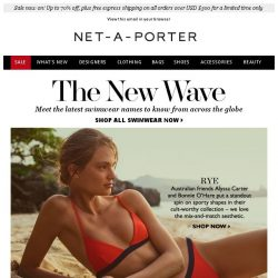 [NET-A-PORTER] The new swimwear names to know