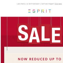 [Esprit] FINAL SALE: up to 70% off sale items!