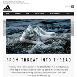 [Adidas] From Threat To Thread