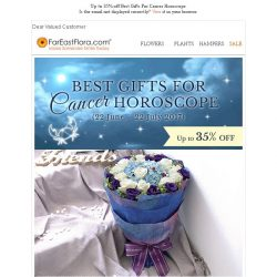 [FarEastFlora] Up to 35% off Birthday Surprises Perfect For Cancer Horoscope!