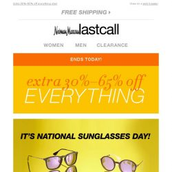 [Last Call] ATTENTION, SHOPPERS! Extra 40% off sandals, bags, & jewelry