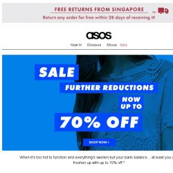 [ASOS] Now up-to-70%-off sale