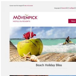 [Mövenpick Hotels & Resorts] A dozen beachfront hotels for your next break