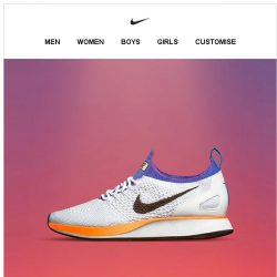 [Nike] Introducing the Air Zoom Mariah Flyknit Racer