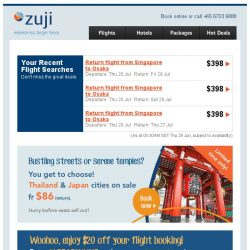 [Zuji] You deserve this flight promo code.
