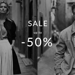 Massimo Dutti: Sale Up to 50% OFF in Stores Now!