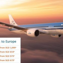KLM: Early Bird Deals to Europe from S$849!