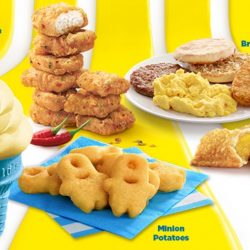 McDonald's: NEW Banana Cone, Minion Potatoes, Iced Banana Chocolate & More!